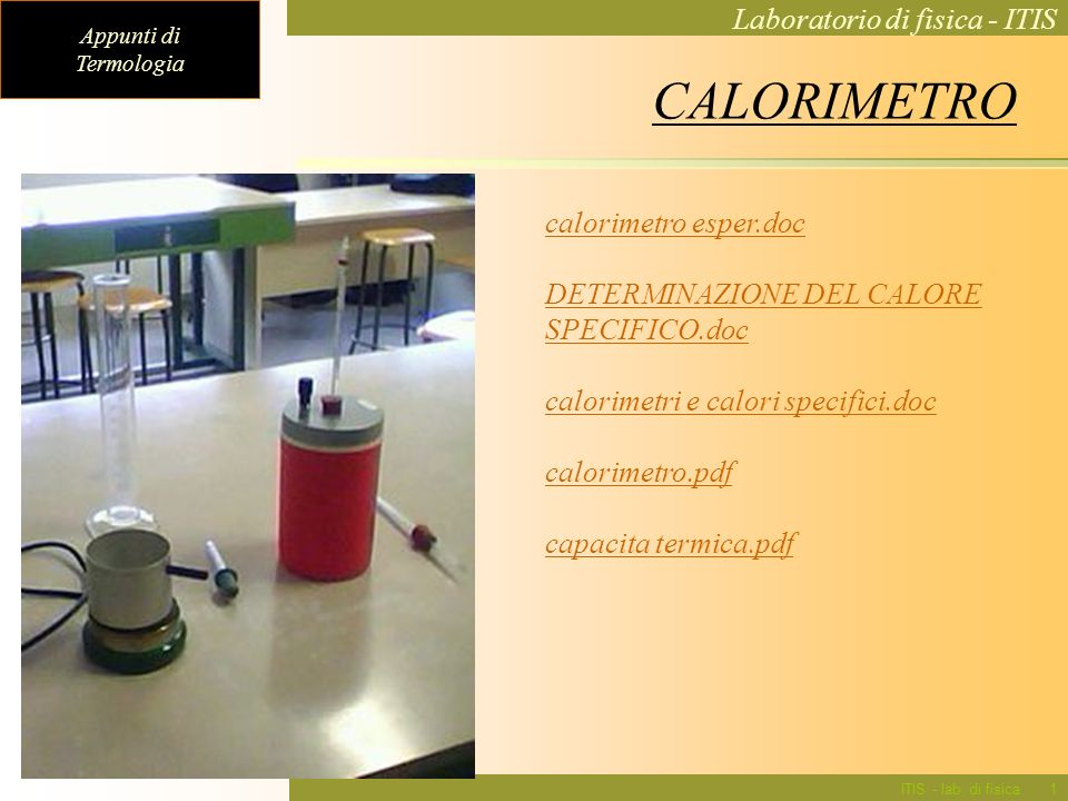 CALORIMETRO calorimetro esper.doc