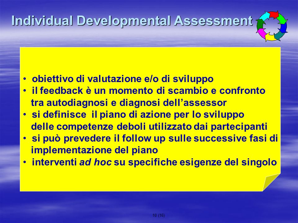 Individual Developmental Assessment