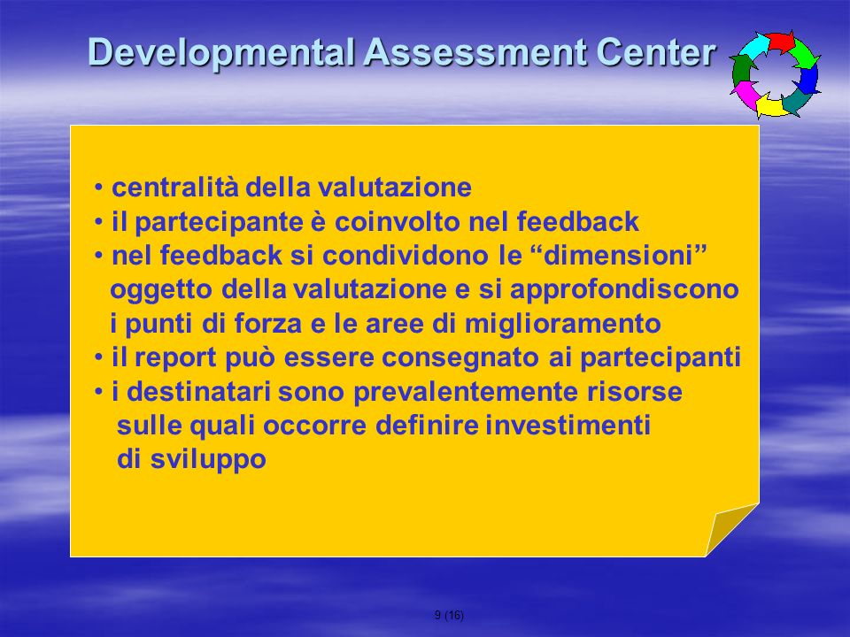 Developmental Assessment Center