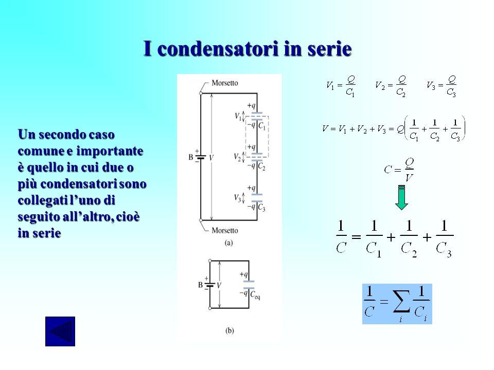 I condensatori in serie
