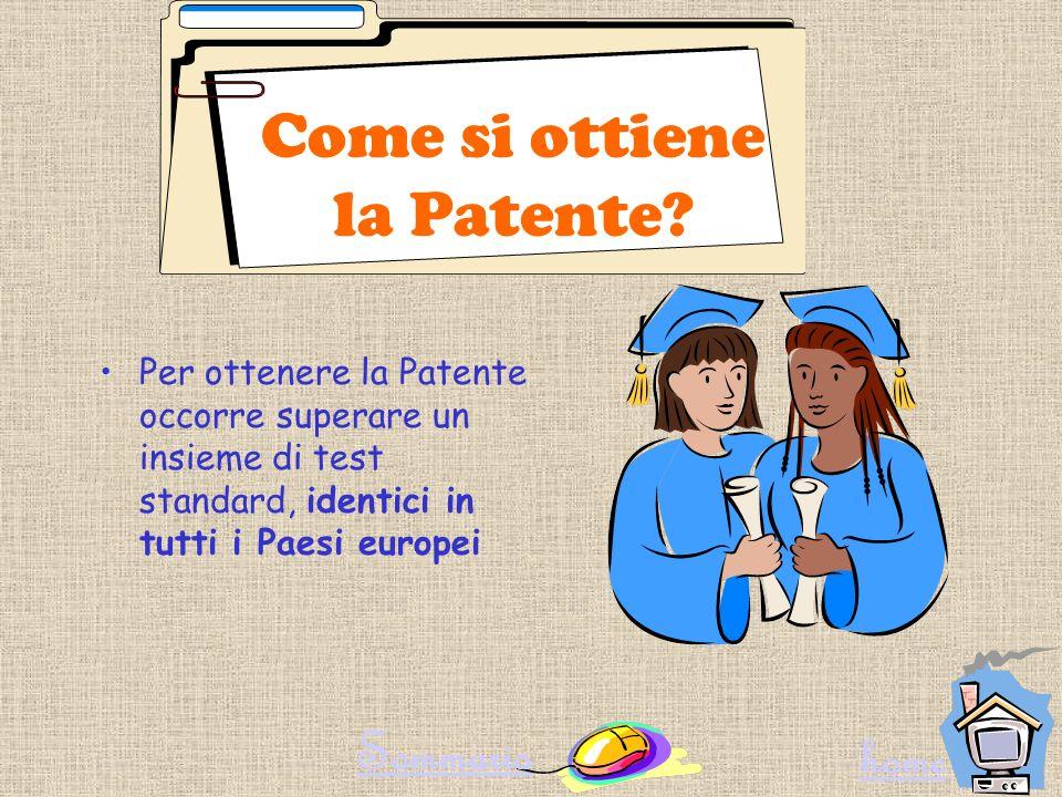 Come si ottiene la Patente
