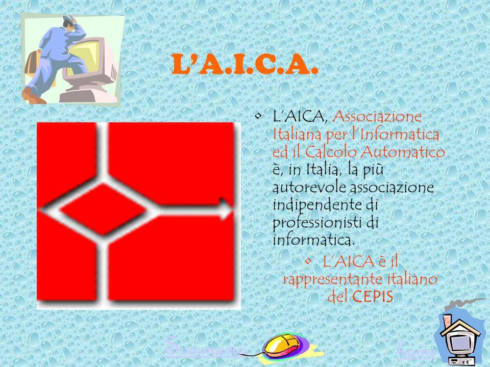 L'AICA è il rappresentante italiano del CEPIS