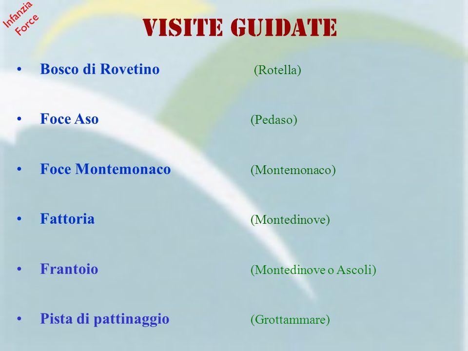 VISITE GUIDATE Bosco di Rovetino (Rotella) Foce Aso (Pedaso)