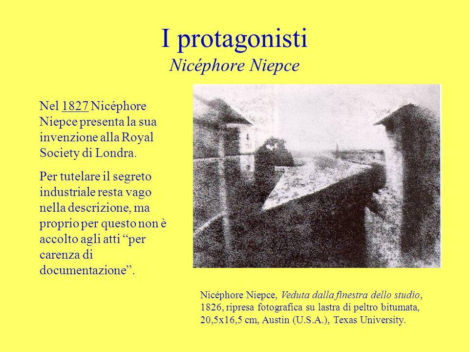 I protagonisti Nicéphore Niepce