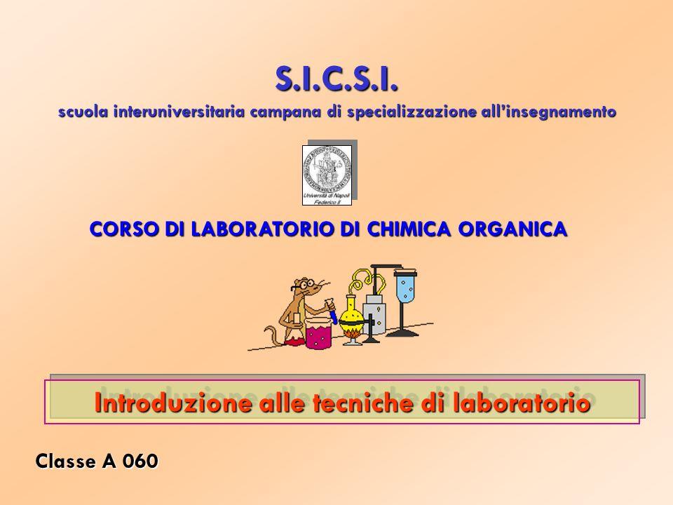 S.I.C.S.I. Introduzione alle tecniche di laboratorio