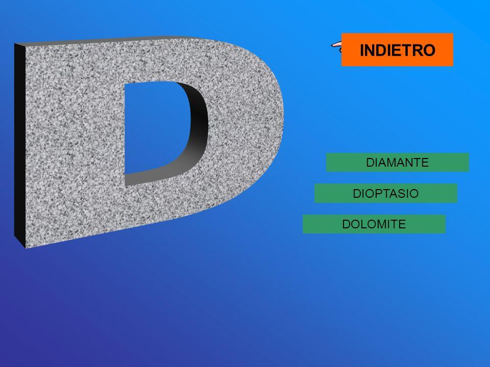 INDIETRO D DIAMANTE DIOPTASIO DOLOMITE