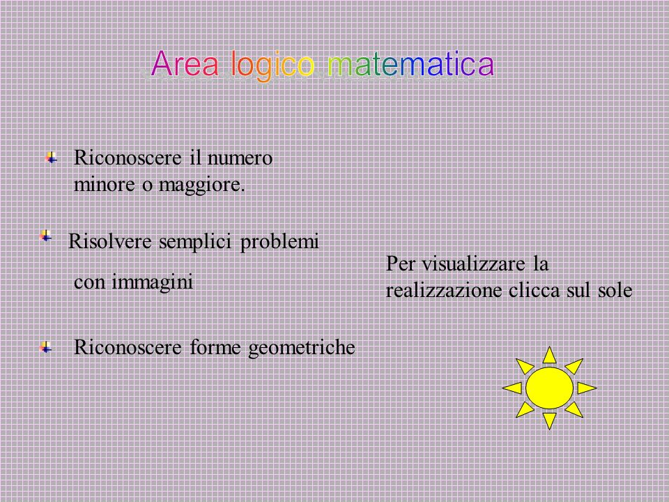 Area logico matematica