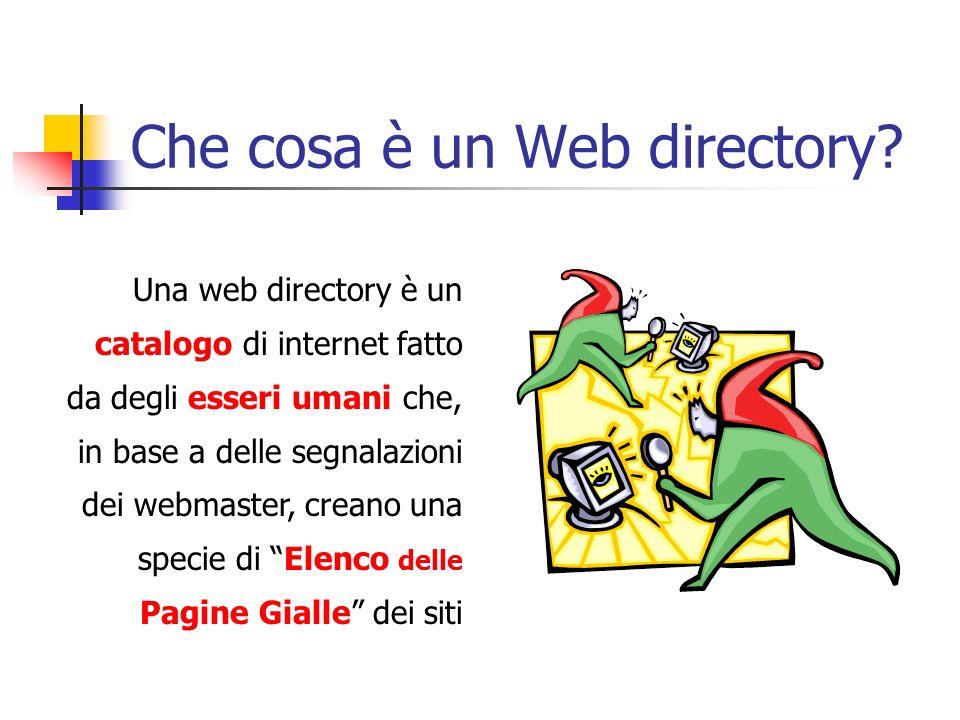 Che cosa è un Web directory