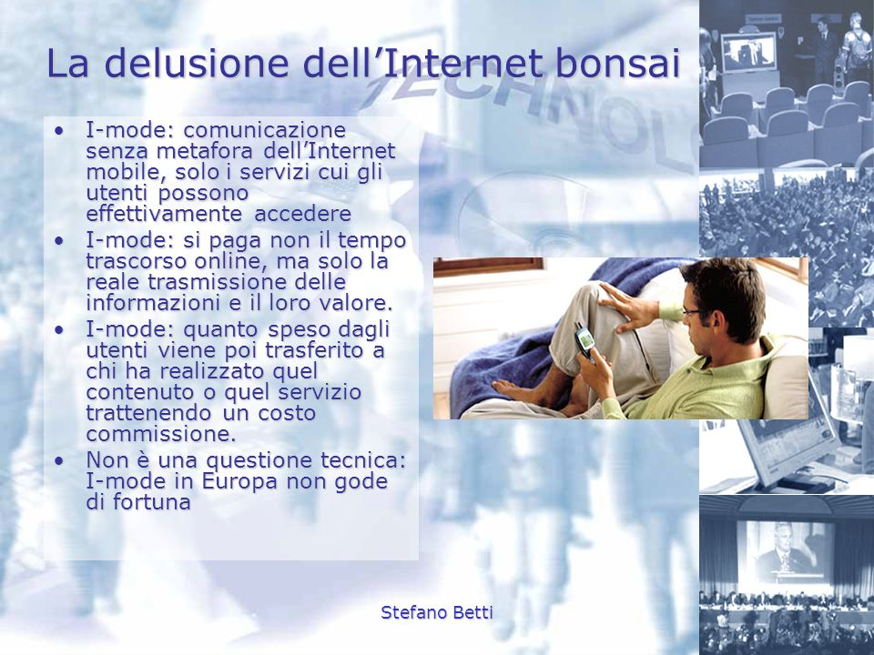 La delusione dell'Internet bonsai