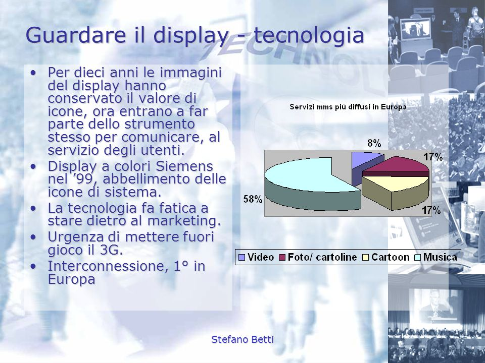 Guardare il display - tecnologia