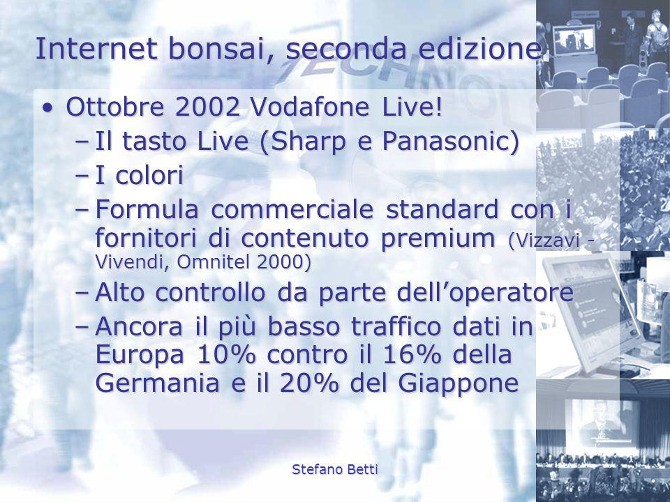 Internet bonsai, seconda edizione