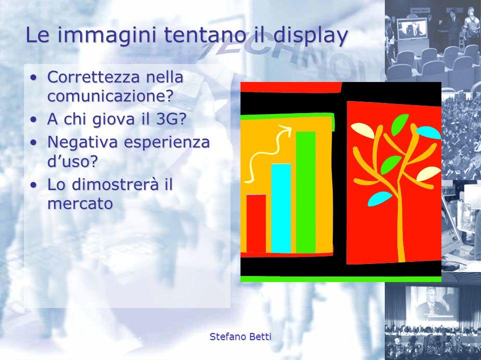 Le immagini tentano il display