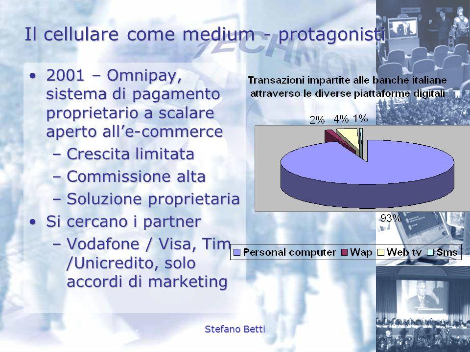 Il cellulare come medium - protagonisti