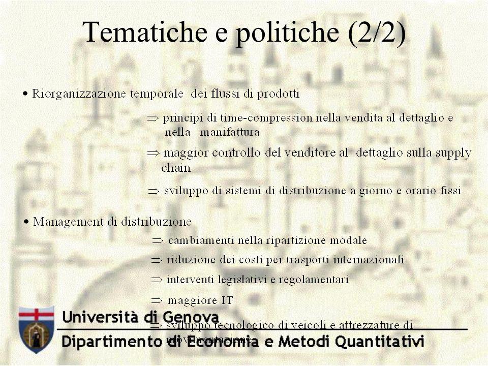 Tematiche e politiche (2/2)