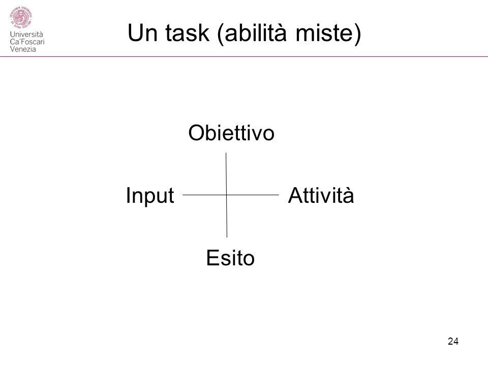 Un task (abilità miste)