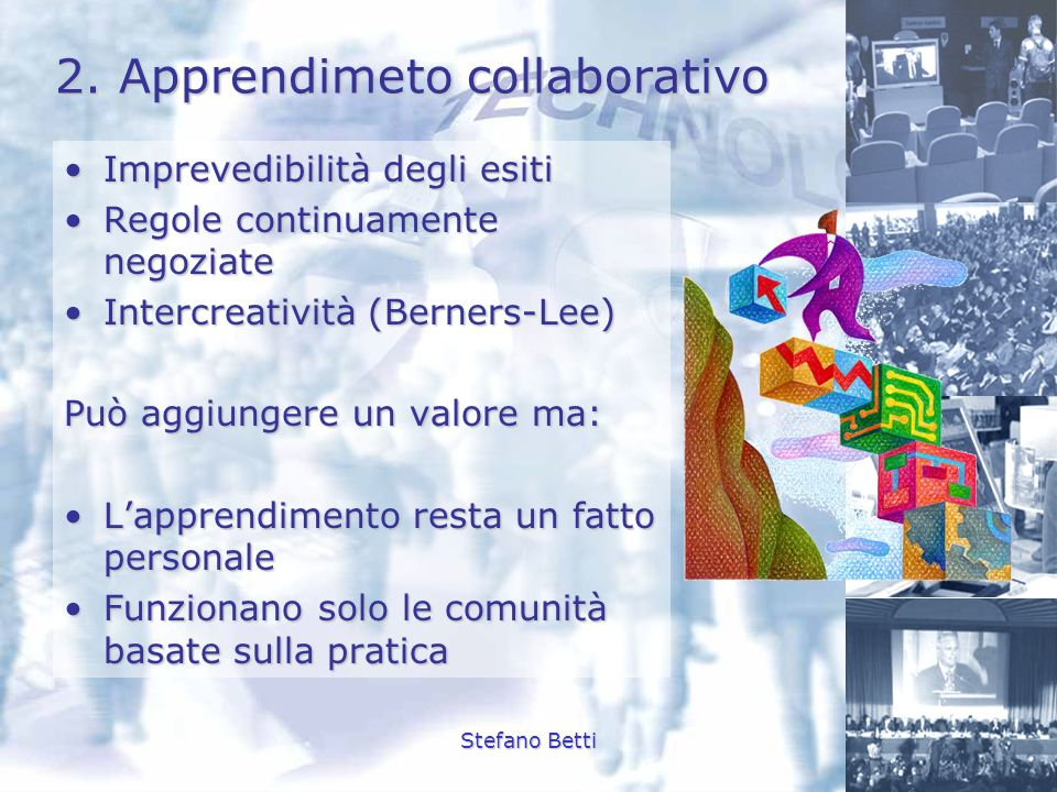 2. Apprendimeto collaborativo