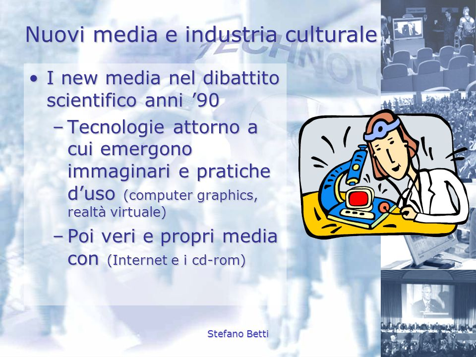 Nuovi media e industria culturale