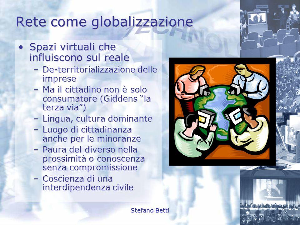 Rete come globalizzazione