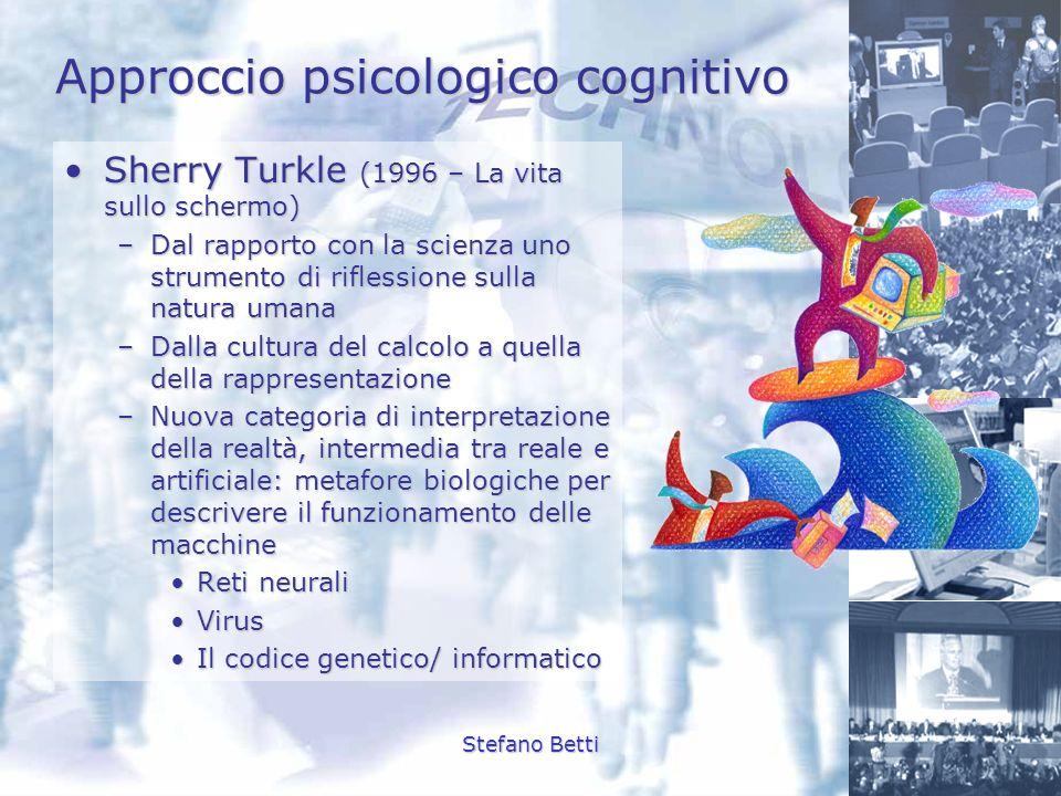 Approccio psicologico cognitivo