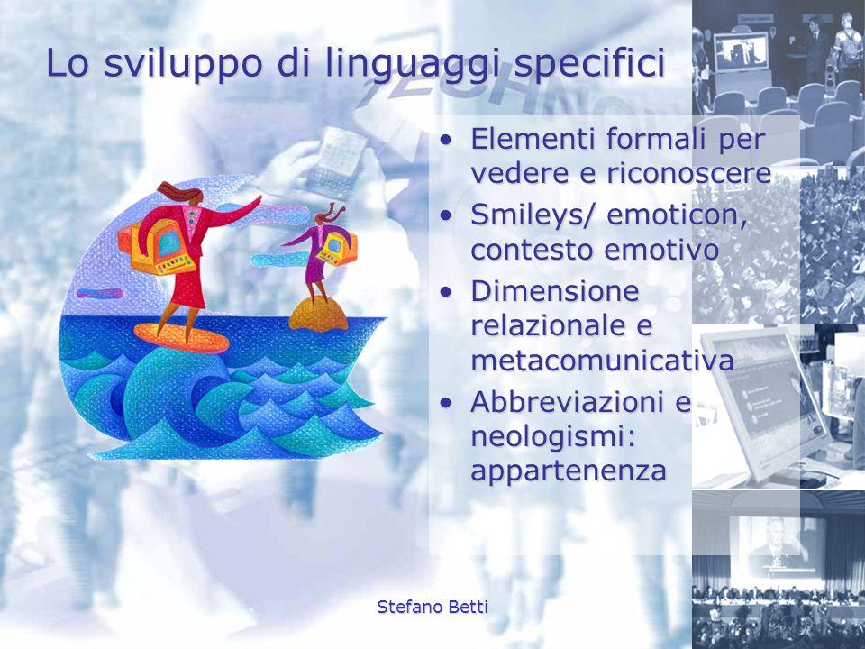 Lo sviluppo di linguaggi specifici