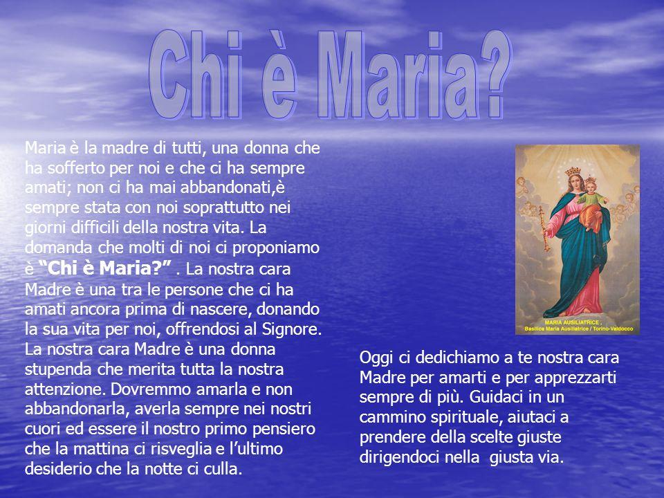 Chi è Maria