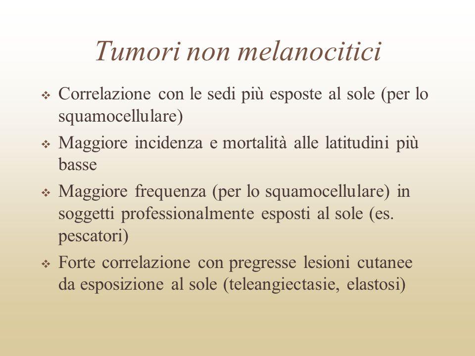 Tumori non melanocitici