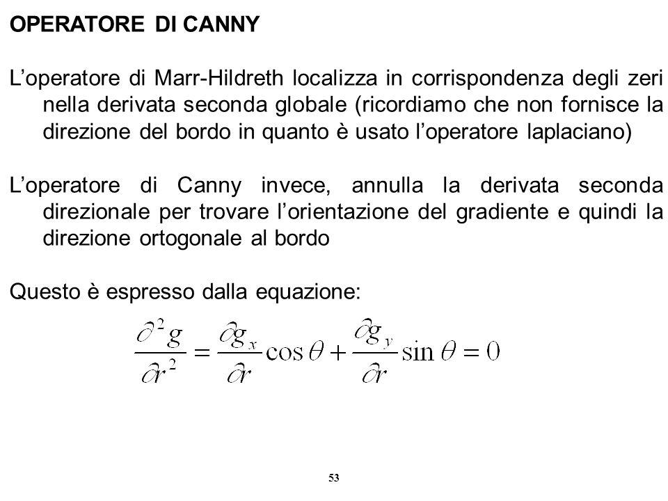 OPERATORE DI CANNY