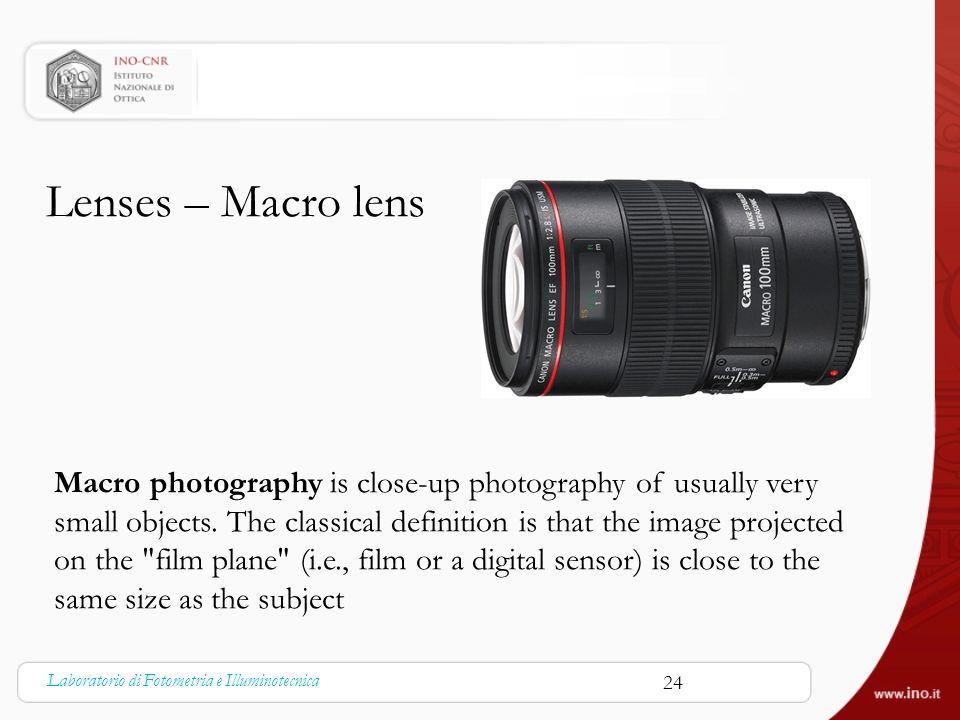 Lenses – Macro lens