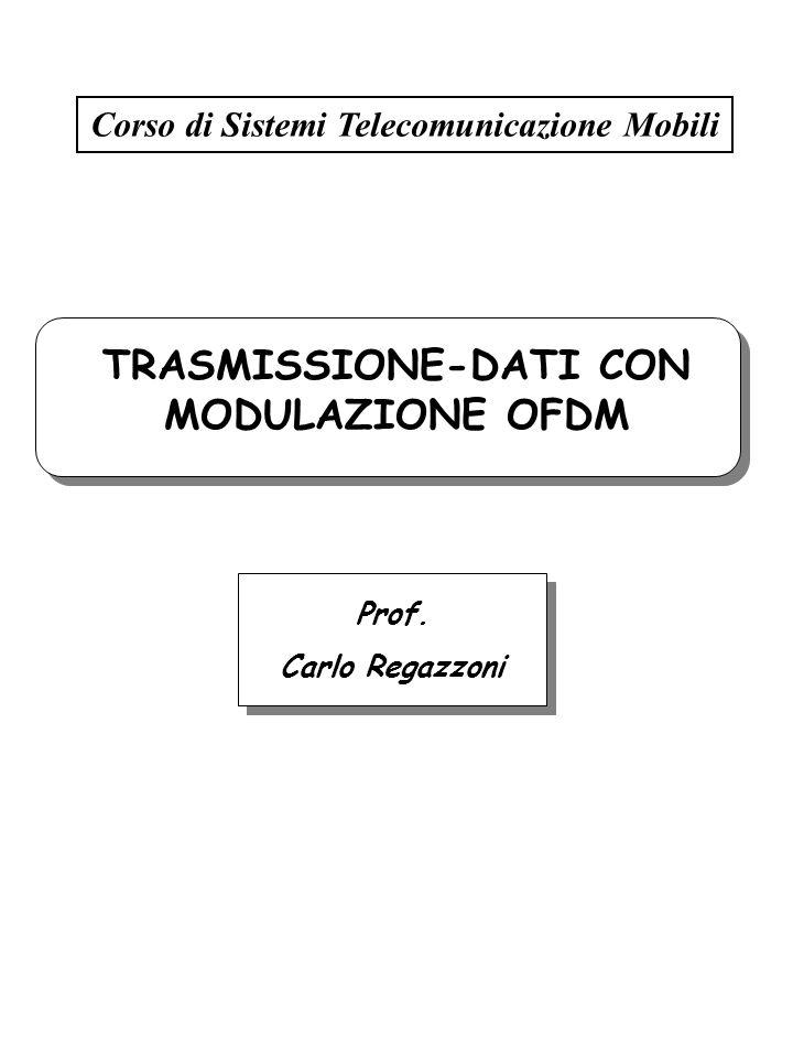 TRASMISSIONE-DATI CON MODULAZIONE OFDM