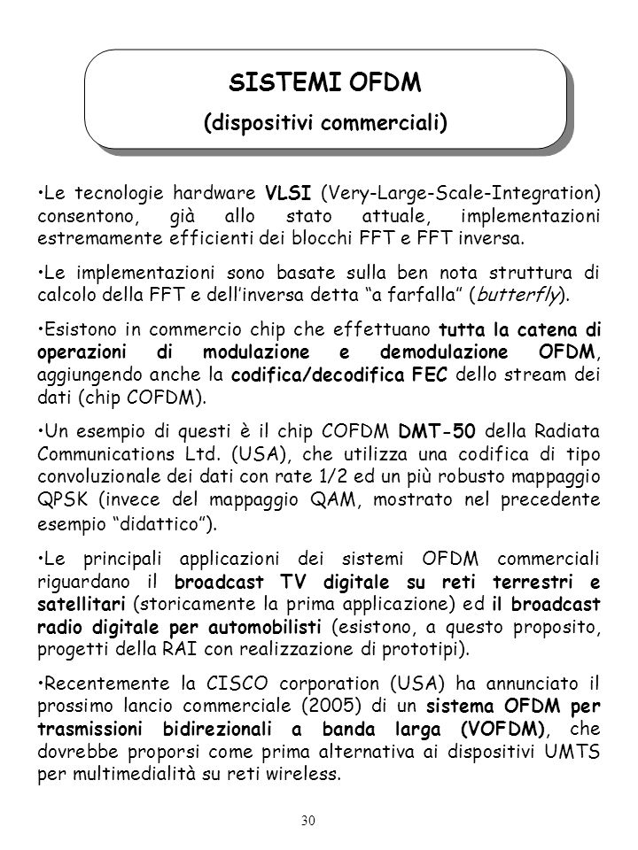 (dispositivi commerciali)