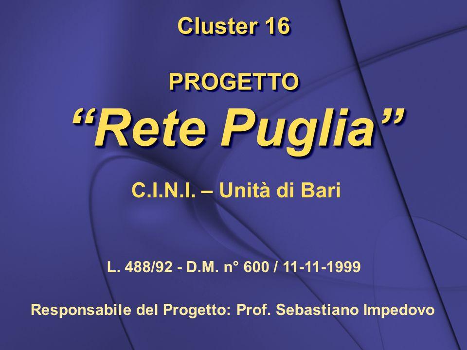 PROGETTO Rete Puglia