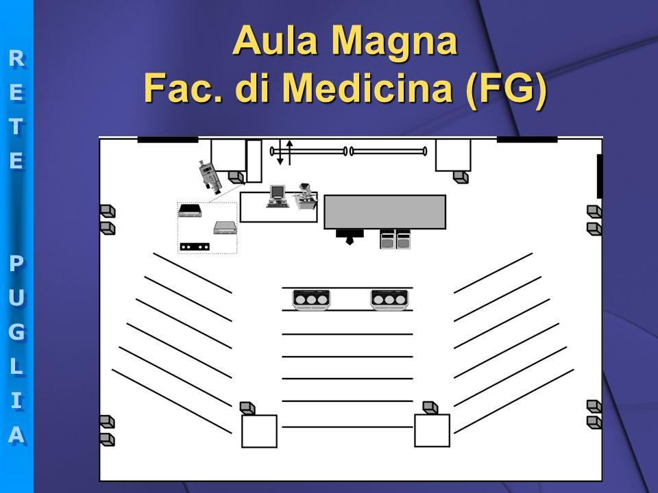 Aula Magna Fac. di Medicina (FG)
