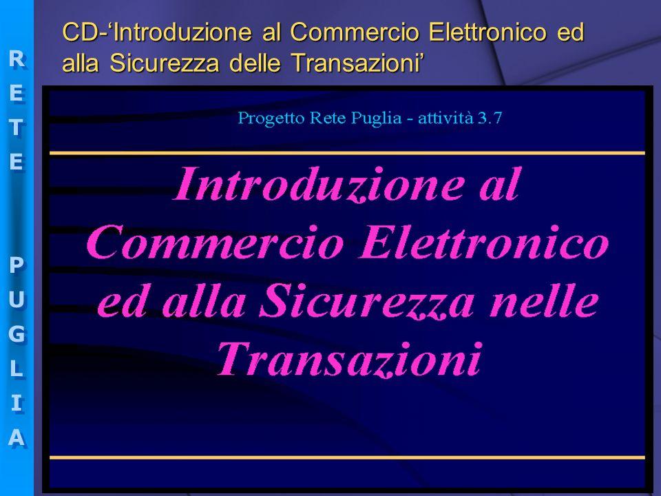 CD-'Introduzione al Commercio Elettronico ed alla Sicurezza delle Transazioni'