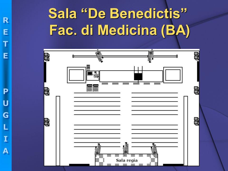 Sala De Benedictis Fac. di Medicina (BA)