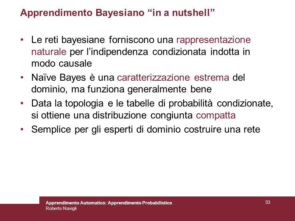 Apprendimento Bayesiano in a nutshell
