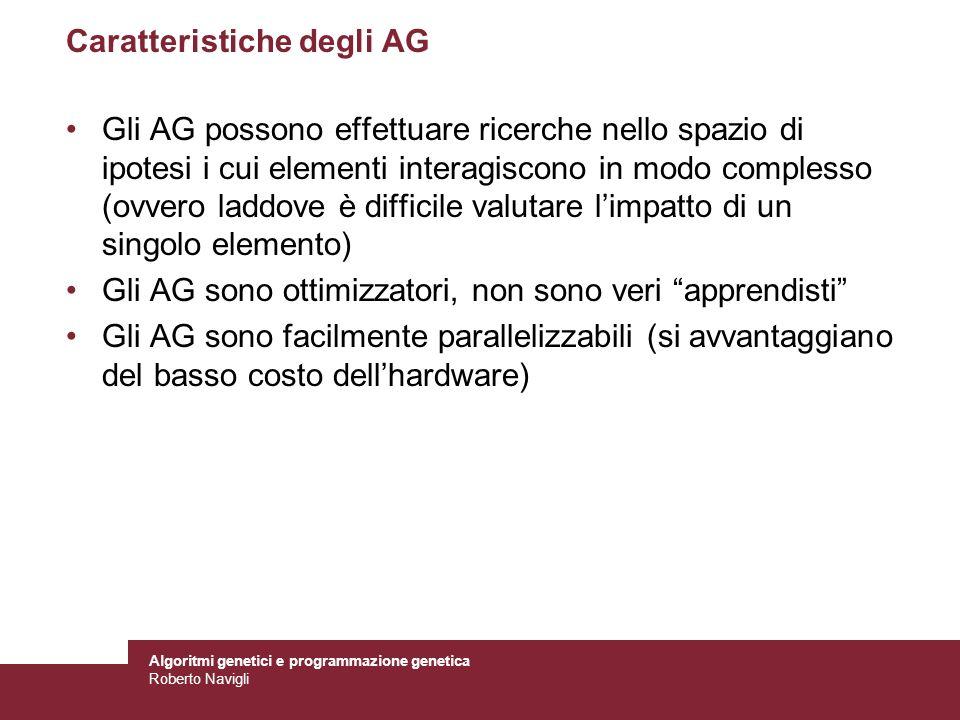 Caratteristiche degli AG