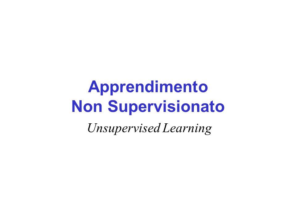 Apprendimento Non Supervisionato