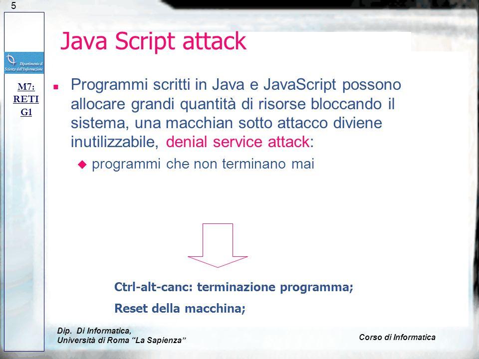 Java Script attack