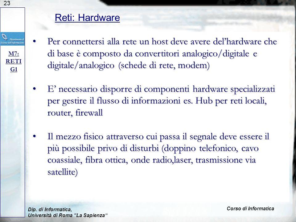 Reti: Hardware