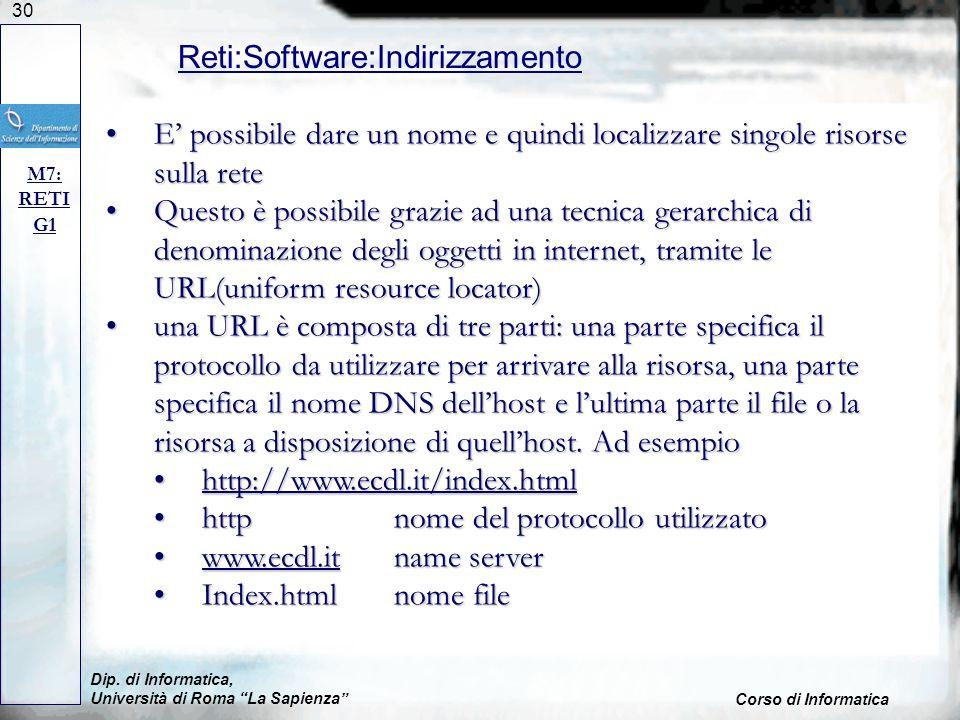 Reti:Software:Indirizzamento