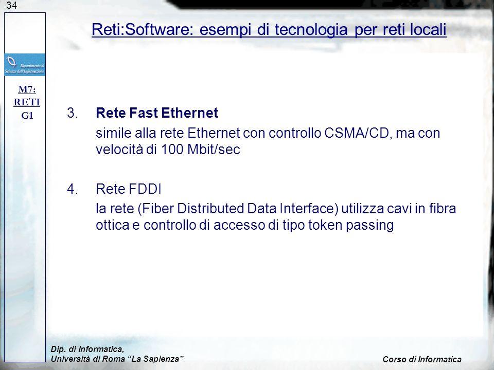 Reti:Software: esempi di tecnologia per reti locali