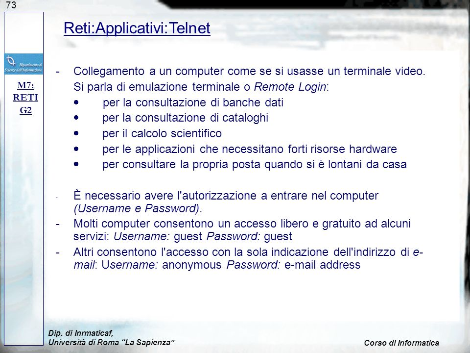 Reti:Applicativi:Telnet