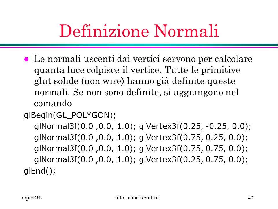 Definizione Normali