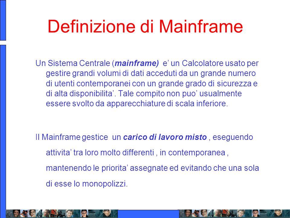 Definizione di Mainframe