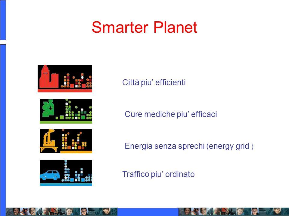 Smarter Planet Città piu' efficienti Cure mediche piu' efficaci