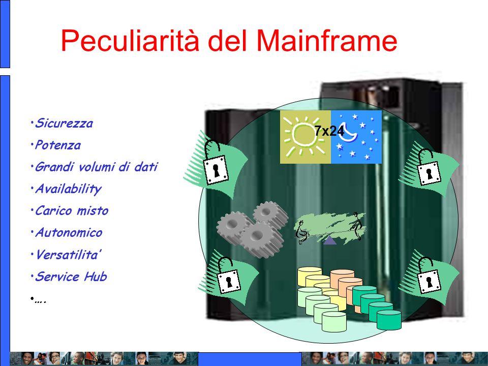 Peculiarità del Mainframe