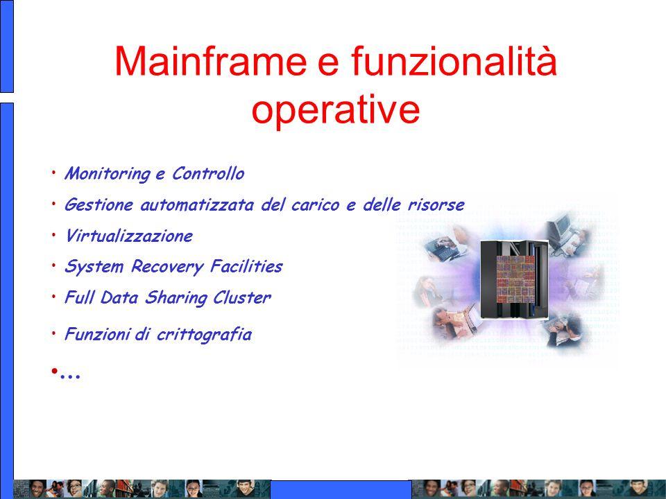 Mainframe e funzionalità operative