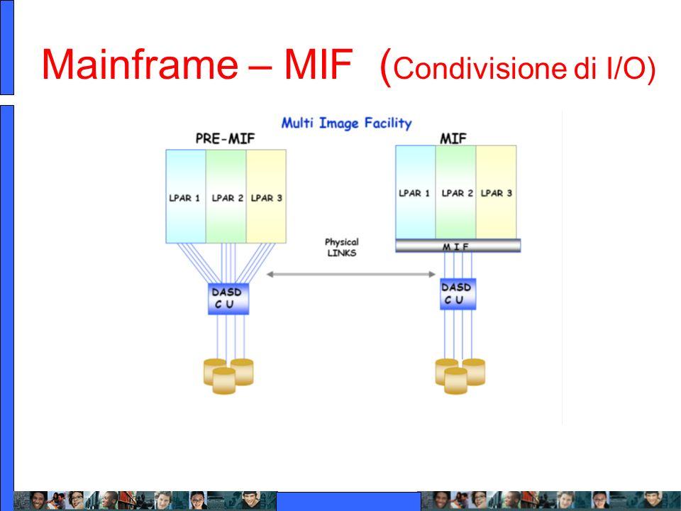 Mainframe – MIF (Condivisione di I/O)
