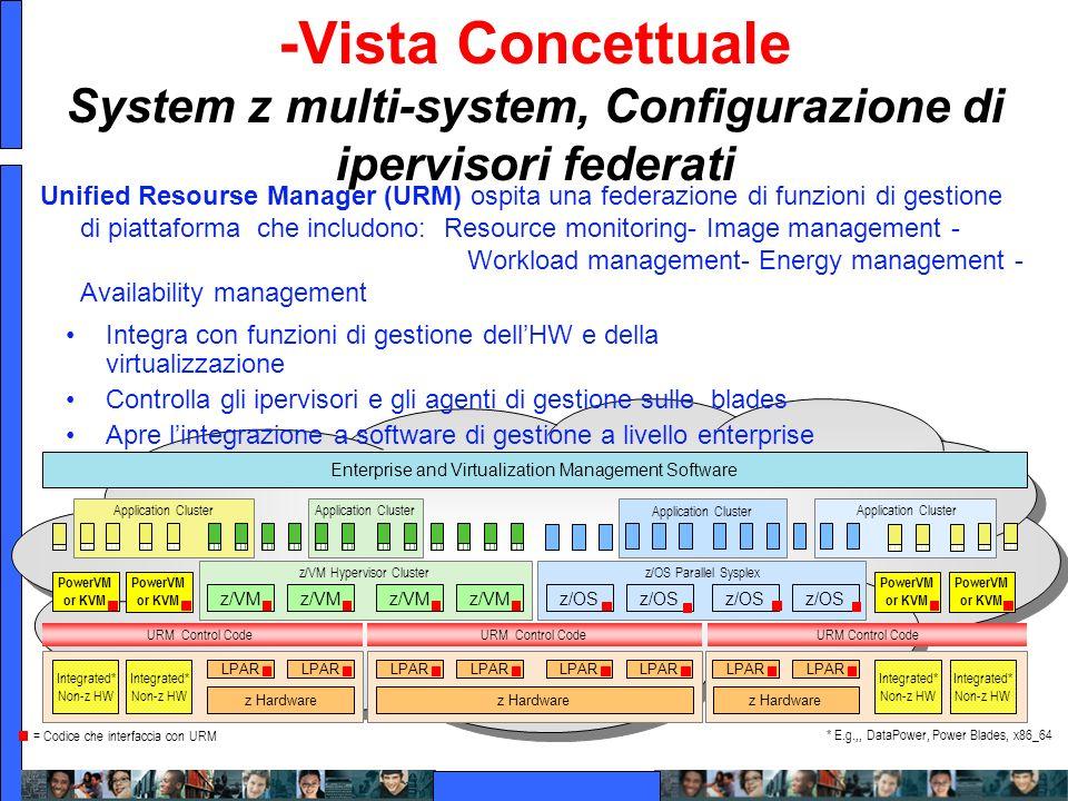 Virtualizzazione multi-architecture IBM -Vista Concettuale System z multi-system, Configurazione di ipervisori federati