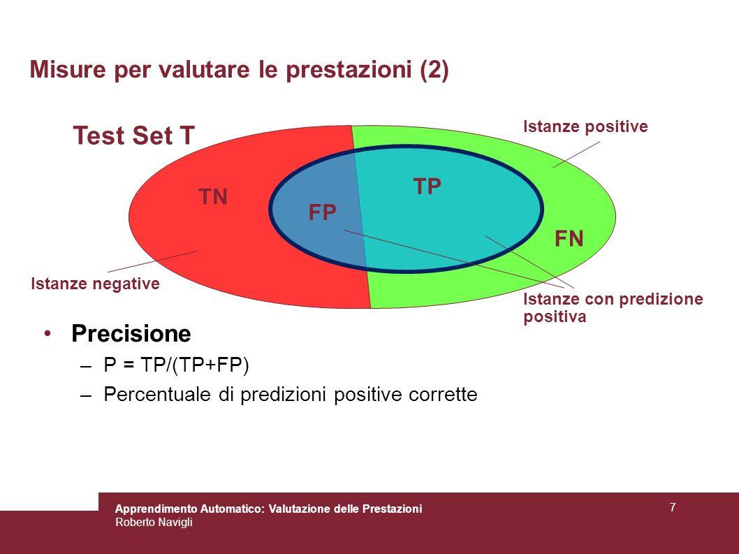 Misure per valutare le prestazioni (2)